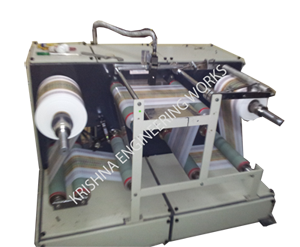 Winding Rewinding Machine With Inkjet Printer